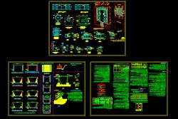دانلود نمونه اول نقشه اتوکد سازه نگهبان با دیتیل و جزییات کامل